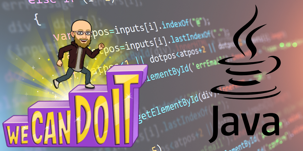 we can do it java